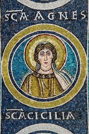 Sv. Agneza (Janja), Eufrazijeva bazilika Poreč